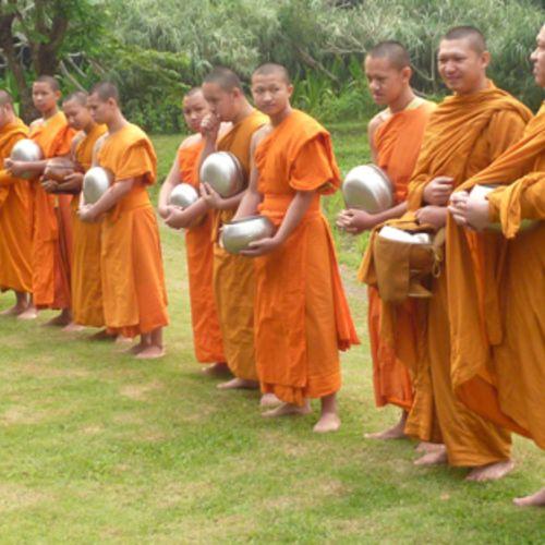 Thailand Mönche