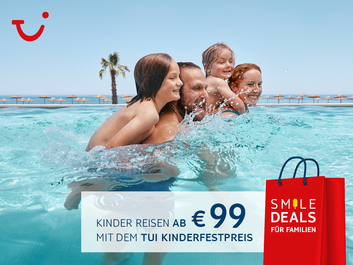 CHILDREN TRAVEL FROM 99 €